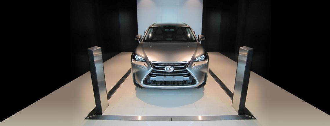 Safetech Lexus Vehicle Hoist