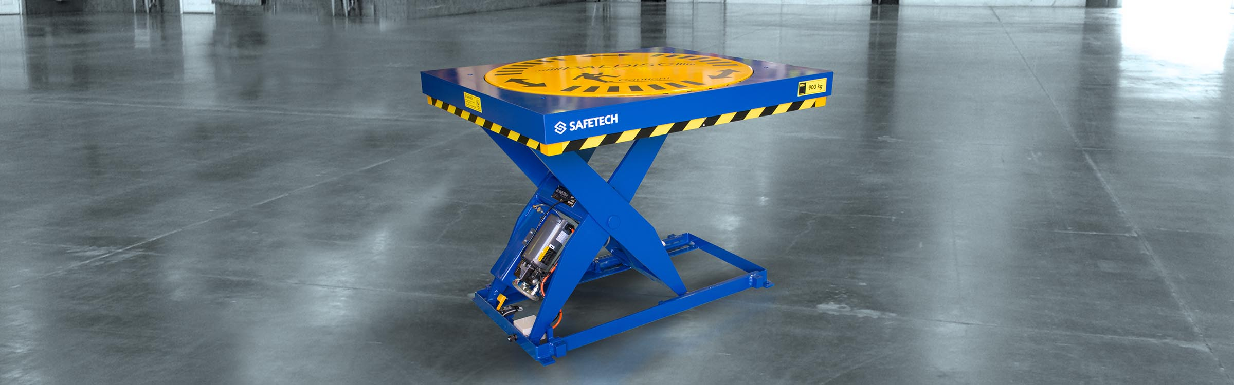Various Safetech Scissor Lift products