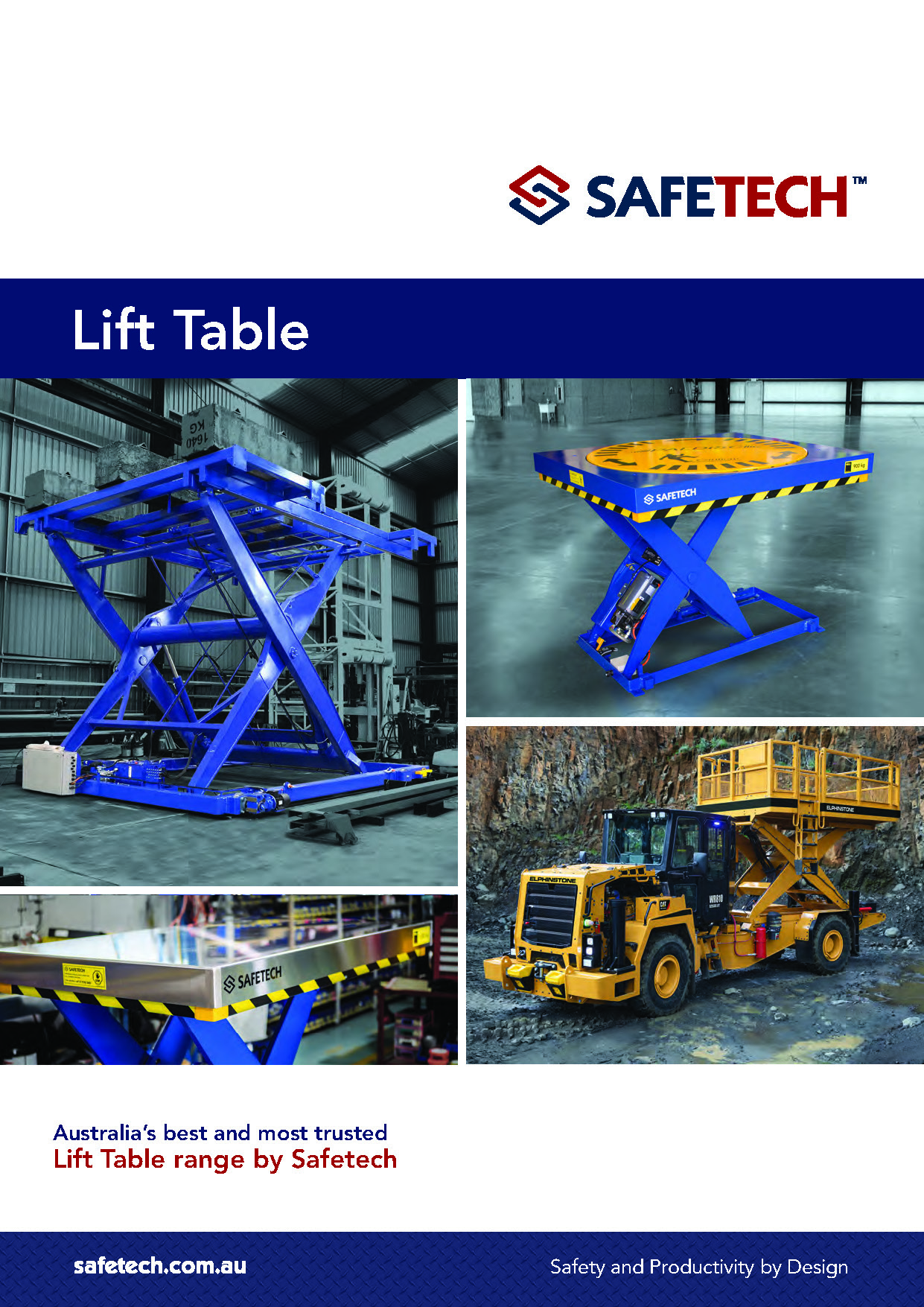 Safetech Lift Tables V1 cover