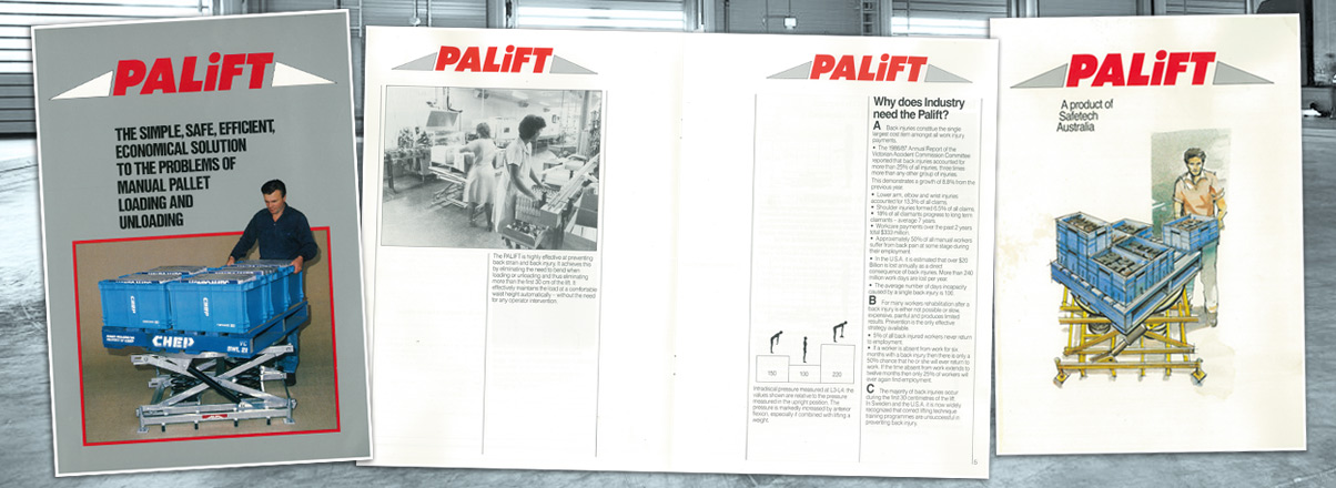 Safetech - early Palift brochure