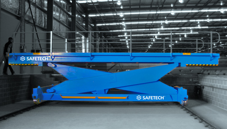 Safetech Mobile Container Loader
