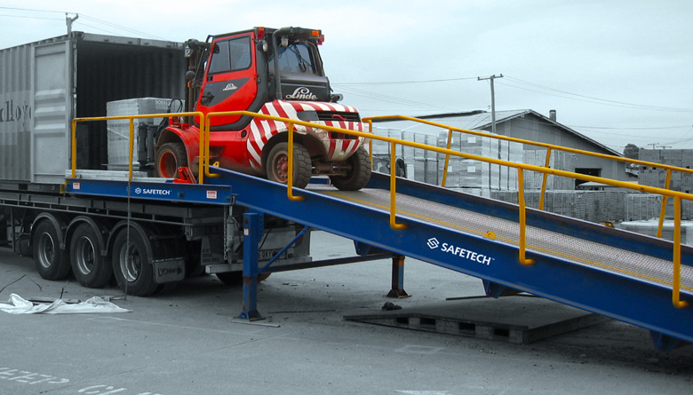 Safetech Container and Yard Ramp