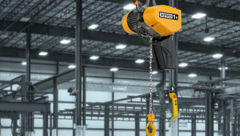 Safetech Gorbel Electric Chain Hoist