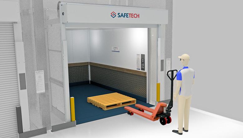 Safetech Freight Hoist