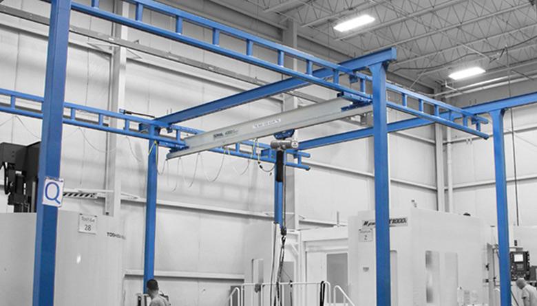 Workstation Bridge Cranes Safetech