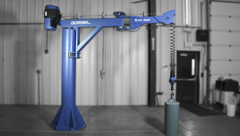 Gorbel Cranes Jibs Amp Ergonomic Lifting Equipment By Safetech