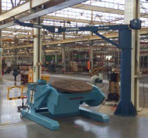 Gorbel Easy Arm installed at Thanes Bendigo
