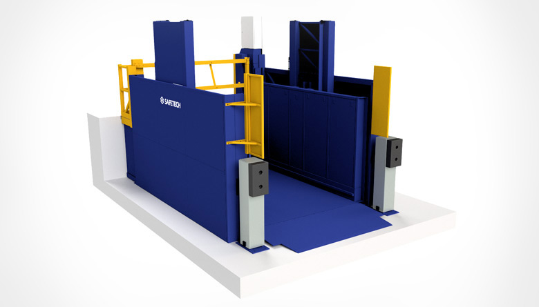 Safetech LoHoist rendering