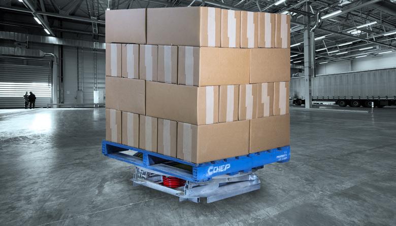 Safetech Pallet Leveller Loaded