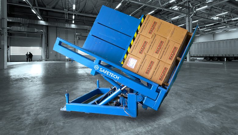 Safetech Pallet Exchanger