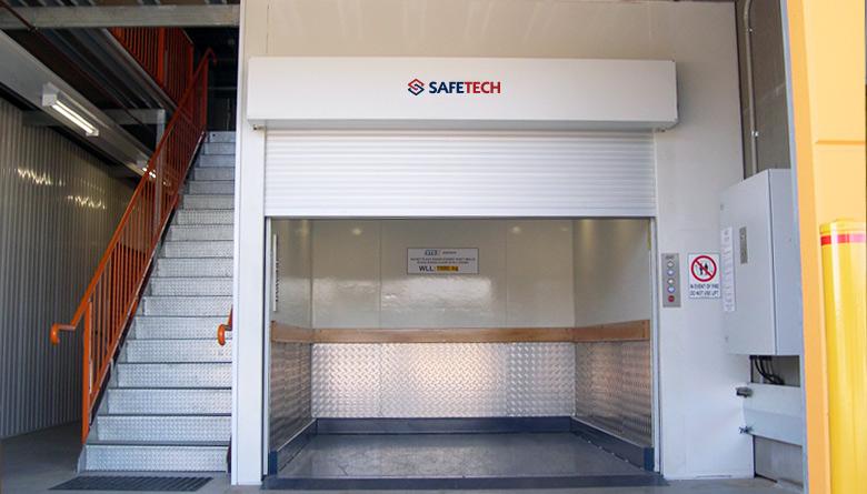 Safetech Freestanding Self Storage Hoist
