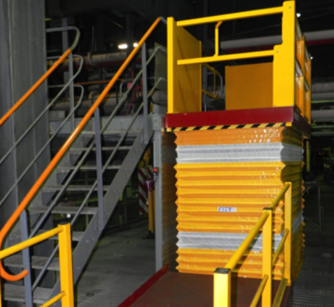 Safetech Single Scissor Lift