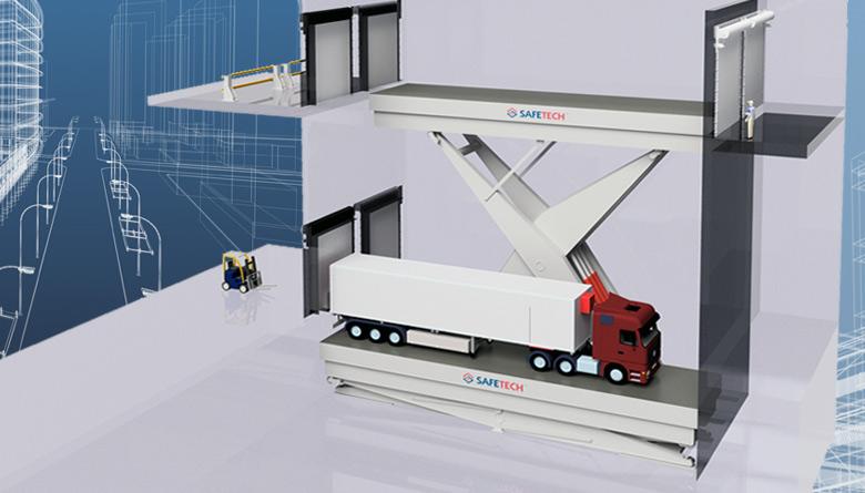 Safetech Heavy Commercial Vehicle Hoist