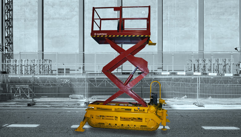 Safetech AS Vehicle Mounted Scissor Lift Table