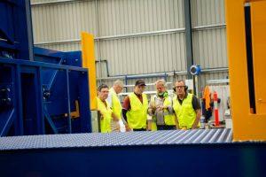 Tony Abbott Visit - Walk about Workshop