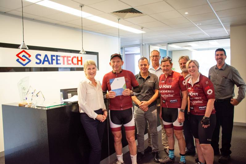 Tony Abbott at Safetech