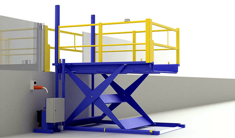 Excellent Lo Lift Low Profile Scissor Lifts Safetech Download Free Architecture Designs Crovemadebymaigaardcom