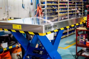 Safetech's Lift Stainless-steel Table Platform