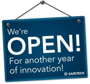 Safetech is open for 2019