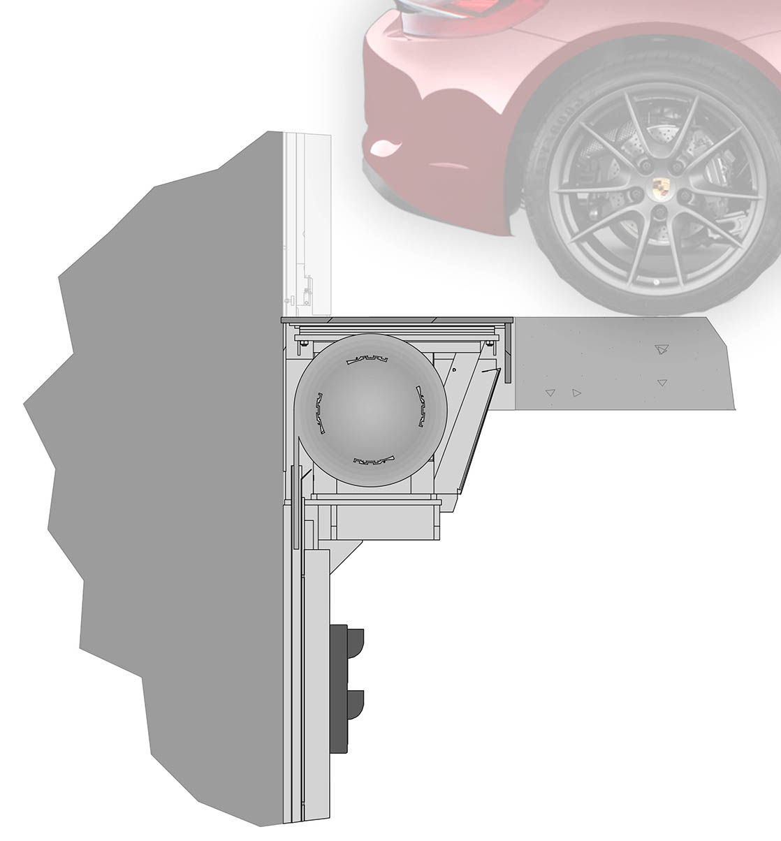 Recessed Roller Door DuraFast