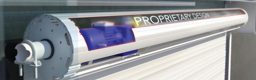 High speed roller doors made by Safetech