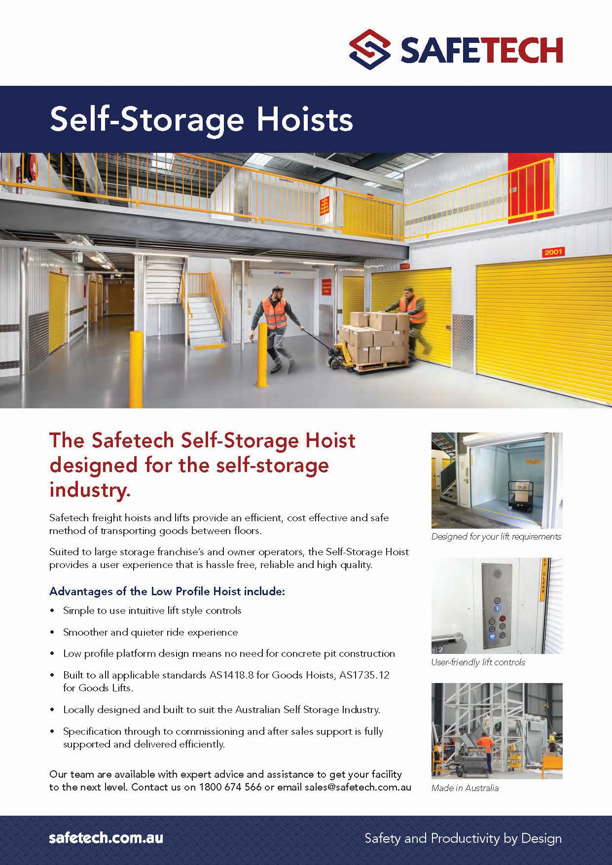 Safetech - Self Storage Hoist Flyer 2016_Page_1