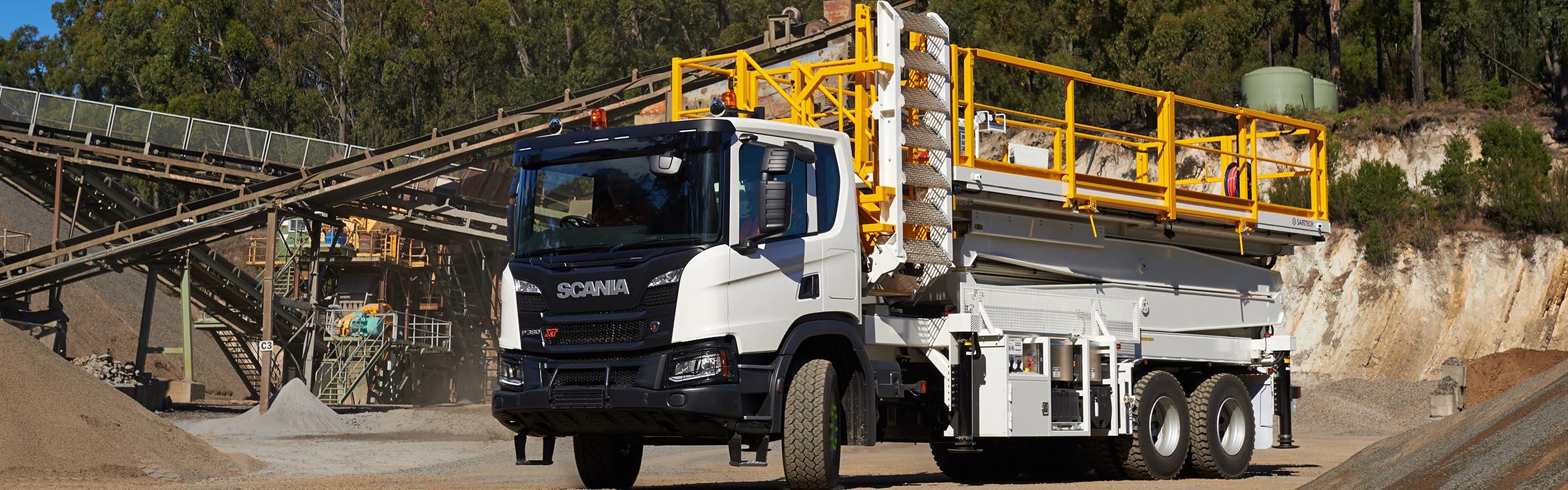 Scania P380XT Mining EWP