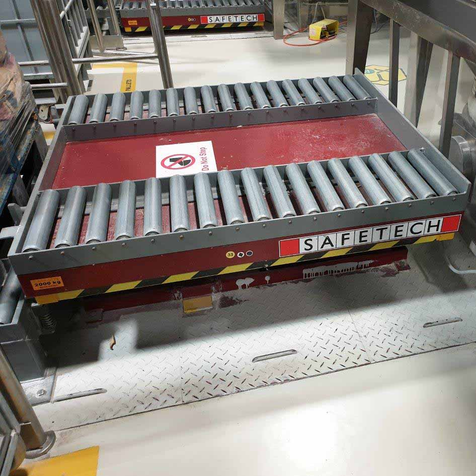 Scissor Lift Conveyor