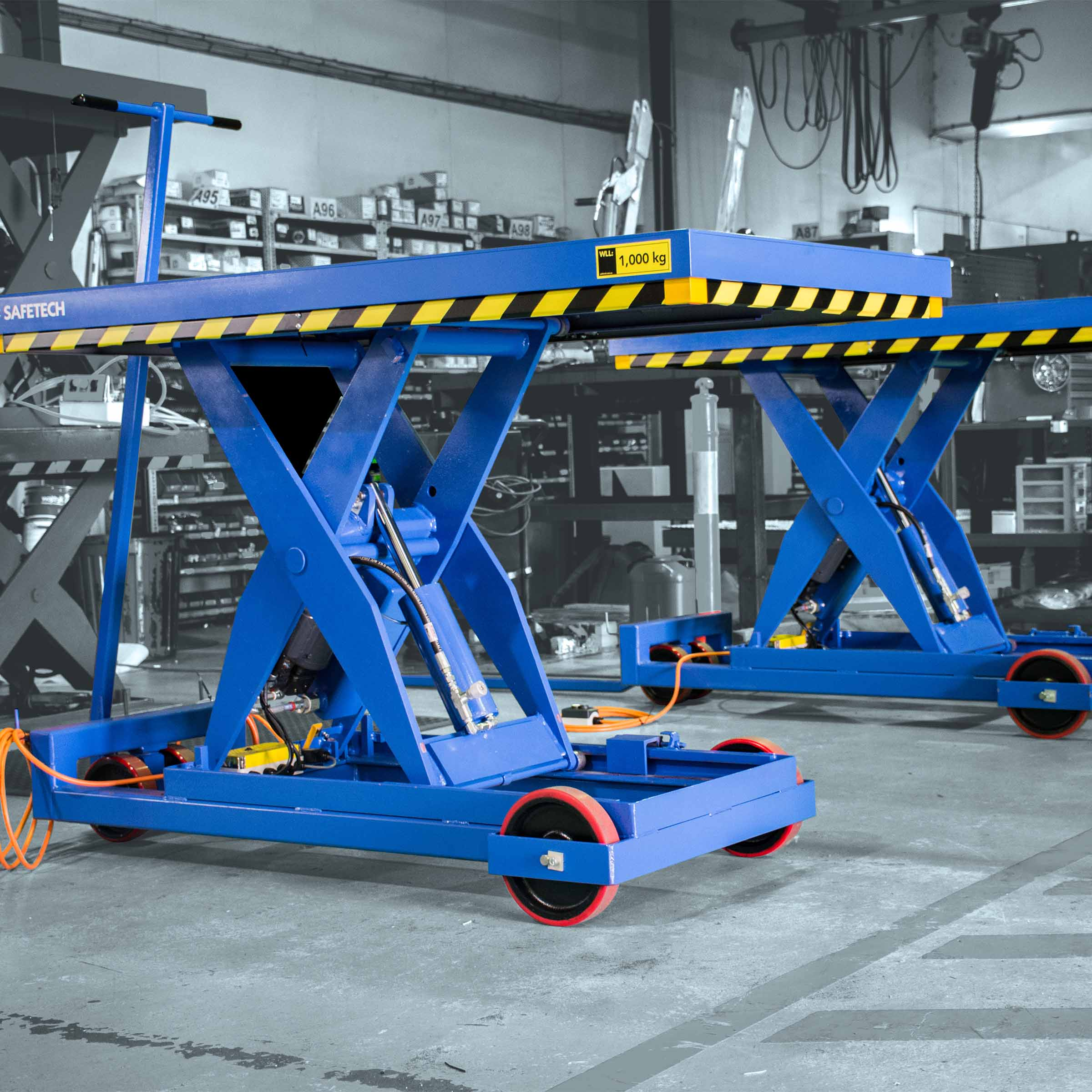 Scissor Lift Mobile Base