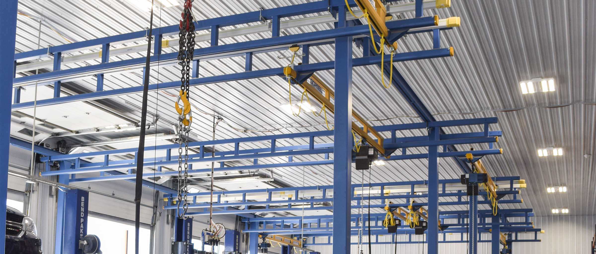 Gorbel Workstation Bridge Cranes