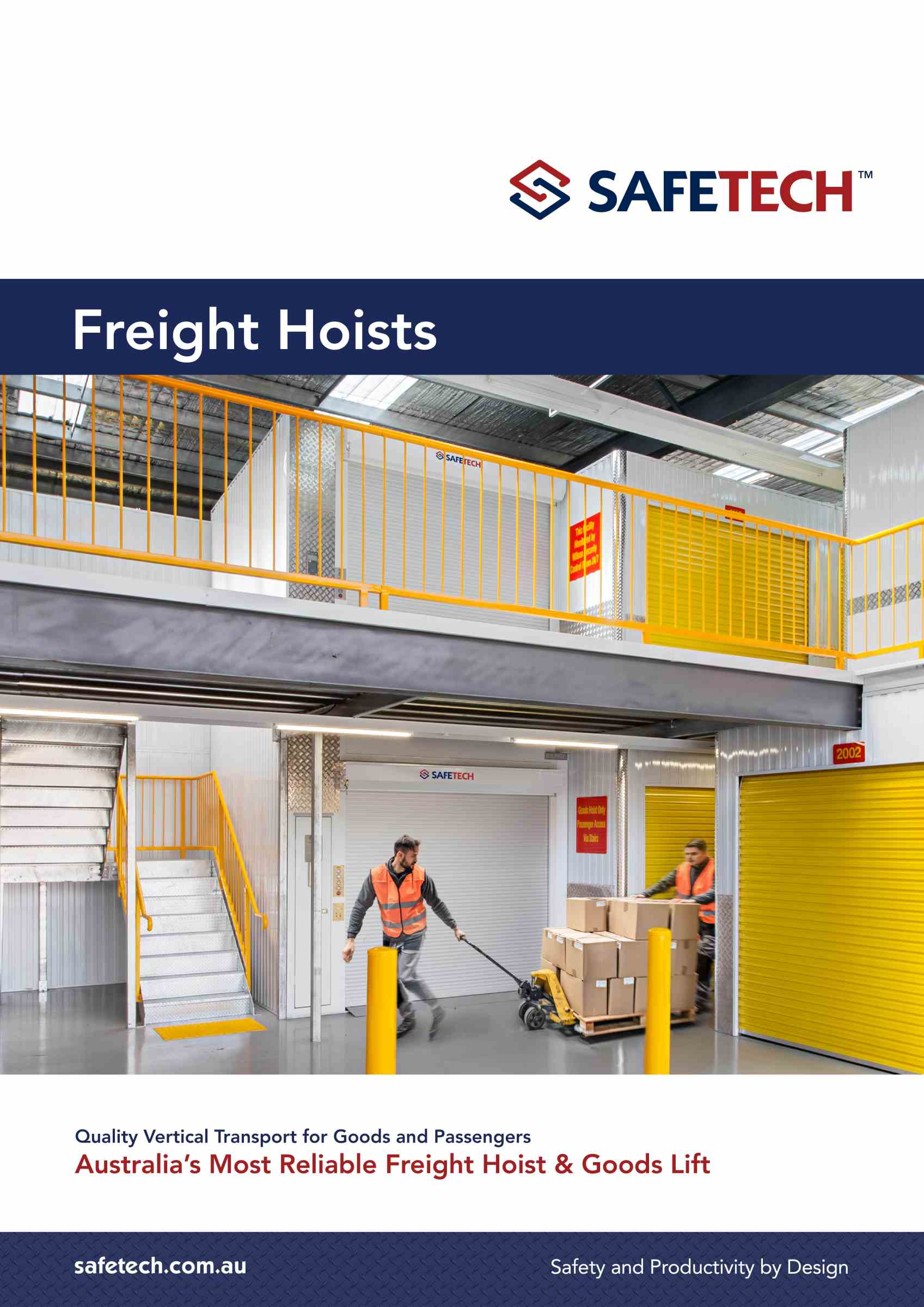Safetech Freight Hoists Brochure