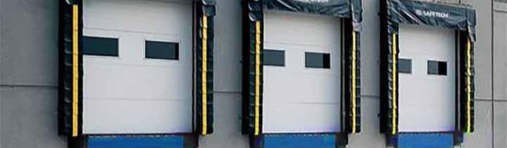 Triple Insulated Dock Doors
